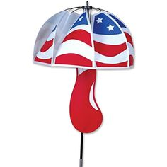 Premier Kites Mushroom Spinner, Patriotic * Read more at the image link. (This is an affiliate link) #SportsOutdoorPlay