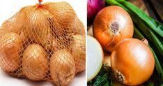 Μην ξαναπετάξεις το πλαστικό δίχτυ από τα κρεμμύδια και τις πατάτες σου – Η απίστευτη χρήση του στην κουζίνα Onion, Cleaning, Vegetables, Tips, Clever, Food, Onions, Essen, Vegetable Recipes