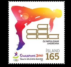Singapore hosted the inaugural Youth Olympic Games from 14 to 26 August 2010. Iceland Post issued a Stamp edition about this in 2010 #Singapore http://www.wopa-stamps.com/index.php?controller=country=stampProduct=4155
