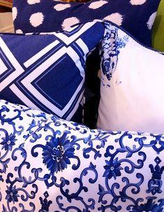 Beautiful Blue and White Patterns