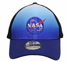 New Era NASA Fitted Hat - Blue and Black