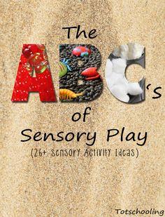 The ABC's of Sensory Play