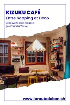 Le Kizuku Café est une petite cafétéria boutique située à Vevey proposant des plats fait maison et un assortiment d'objets déco. #vevey #suisse #cafeteria #shopping Vevey, Restaurants, Boutique Deco, House Styles, Shopping, Home Decor, Diy Food, Homemade, Eat Breakfast