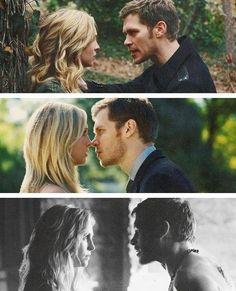 Klaus and Caroline. MY FAVORITE VAMPIRE KINDA COUPLE