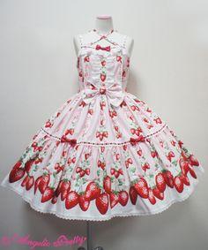 Berry Gardenティアードジャンパースカート