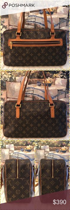 270e40eea85c Inside of bag has pen marks. Has storage odor. Minor white stains on  canvas. Date Made in France Louis Vuitton Bags Shoulder Bags