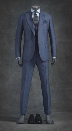 William et marron-bleu Gilet pour Big and Tall