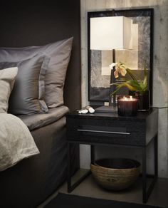 Ideas for Decorating a Dark Bedroom Elegant Home Decor, Elegant Homes, Cozy Bedroom, Bedroom Decor, Ideas Hogar, Deco Design, Apartment Interior, Luxurious Bedrooms, Modern Interior Design