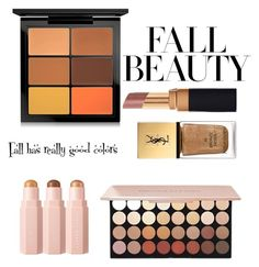 """""""Fall Beauty's makeup"""" by fatima-aliyarzade ❤ liked on Polyvore featuring beauty, MAC Cosmetics and Yves Saint Laurent"""