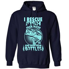 I RESCUE FISH AND BEER