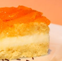 Candied orange cake
