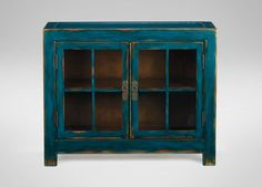ETHAN ALLEN: MING SMALL MEDIA CABINET