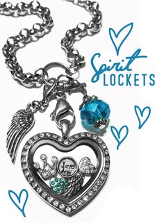 Silver heart locket  www.spiritlockets.com/#erikagarner