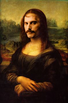 Freddie Mercury Mona Lisa s2 <3 s2
