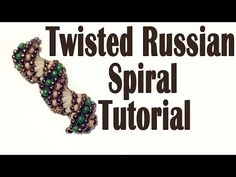 Twisted Russian Spiral tutorial - YouTube