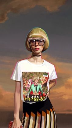 378e1c2b6bb Can t see enough of Gucci Artwork.