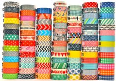 96 awesome patterns of washi tape for only $1.89 each!