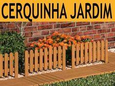 Cerca Cerquinha Em Madeira Para Jardim Linda Decora O Casa