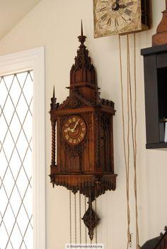 "Beha Cuckoo Clock with Monk Automation ""Beha Kapuziner-Uhr"""