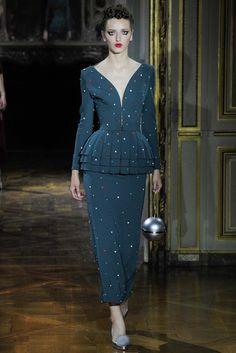 Ulyana Sergeenko Fall 2015 Couture Fashion Show - Sasha Antonowskaia