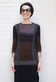 Ravelry: The Rothko Sweater pattern by Ann Weaver