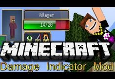 Minecraft Damage Indicators 1.7.10 Mod