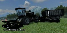 Here at the end of LS13 again a Krone Big M 500BB + ZX 450B! Ideally suited to make right m³ Grass!