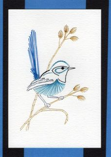 hand made greeting cards with Iris Folding and Paper Embroidery Embroidery Cards, Embroidery Patterns, Hand Embroidery, Sewing Cards, Hand Made Greeting Cards, Iris Folding, Textiles, Little Birdie, Australian Animals