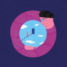 "Personal interpretation of the film ""Truman Show"" for Tapirulan contest.   #sofiasita #picture #art #artsy #creative #illustration #digitalartist #digitalart #artist #digitalpainting #artoftheday #illustrator #creativity #character #art_we_inspire #tapirulancontest #trumanshow #truelove #film #idea"