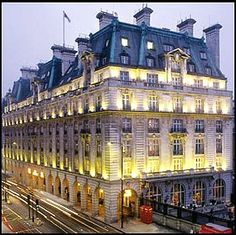 Classical Eclecticism: The Ritz Hotel built in 1906 in London.