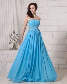 Baby Blue Empire Strapless Beaded Decorate Waist Prom Dress Wuth Backless 2013 N… Baby Blue… – Bloğ Prom Dresses Online, Cheap Prom Dresses, Prom Party Dresses, Homecoming Dresses, Bridesmaid Dresses, Dress Online, Occasion Dresses, Chiffon Evening Dresses, Strapless Dress Formal