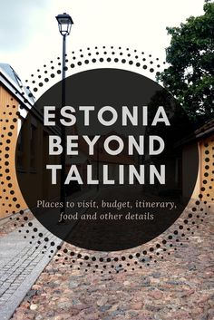 Detailed information about places to visit in Estonia, costs, transportation, local tips and other important information for the first time visitors. Europe Travel Tips, Travel Advice, Travel Guides, Travel Destinations, European Destination, European Travel, Estonia Travel, Where To Go, Travel Inspiration