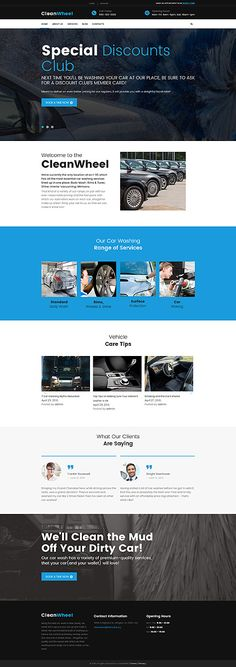 Car Wash Specialists #Wordpress #template. #themes #business #responsive #Wordpressthemes