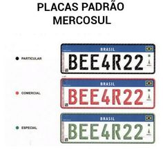 Até o fim de 2020 todos os veículos do brasil deverão possuir placa padrão mercosul: ift.tt/1TNQqPj