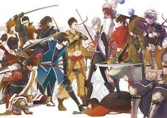 Sengoku Basara, Date Masamune, Samurai Warrior, Boruto, Manga Anime, Fan Art, Manga Games, Warriors, Party