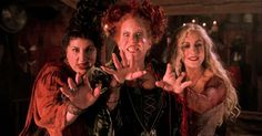 Yes, the Sanderson sisters may have been evil, but they were also super funny!