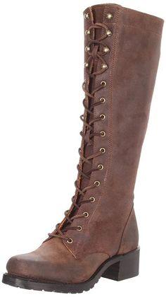 Katniss boots! Amazon.com: FRYE Women's Campus Lug Boot: Frye Campus Lug Lace Boots: Shoes