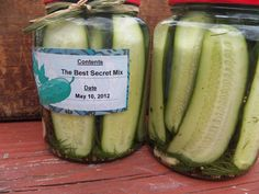 Dill-icious Refrigerator Pickles | comfycook.com