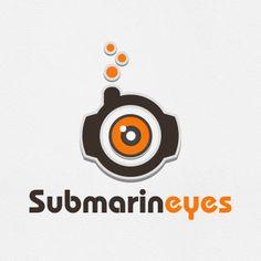 Submarine Eyes   Logo Design Gallery Inspiration   LogoMix