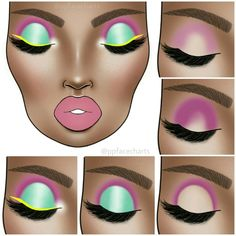 Shared by Find images and videos about beauty, art and aesthetic on We Heart It - the app to get lost in what you love. Teal Makeup, Dark Skin Makeup, Pretty Makeup, Creative Eye Makeup, Colorful Eye Makeup, Contour Makeup, Eyeshadow Makeup, Eyebrow Makeup, Virtual Makeup