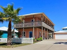 3/3+private+home!+Over+1000+sq+ft+of+decks!+Community+Pool!+Beach+Boardwalk!+++Vacation Rental in Texas Gulf Coast from @homeaway! #vacation #rental #travel #homeaway