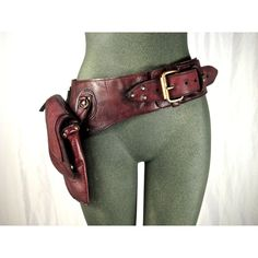 leather hip bag, thigh bag, hip belt, utility belt, holster belt,... (€245) ❤ liked on Polyvore featuring bags, accessories, belts, genuine leather bag, leather bags, zip bags, leather zipper bag und green bags