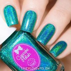 Swatch of Cupcake Polish Water You Doing Nail Polish (Berry Patch Collection)