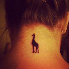 Giraffe Tattoo ; I love it so much! | Tattoos | Pinterest