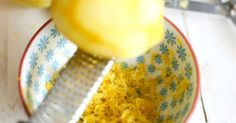 Freeze Lemons- The lemon peel contains 5 to 10 times more vitamins than the lemon juice itself and the peel is the part that is usually wasted.