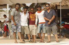 the team of 3AM Siddharth Atha, Vishal Mahadkar, Prasana Sujit,Sushant and Richard De Varda