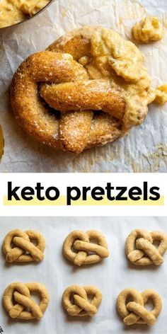Lowest Carb Bread Recipe, Low Carb Bread, Low Carb Diet, Low Carb Pretzel Recipe, Pretzels Recipe, Low Carb Recipes, Cooking Recipes, Healthy Recipes, Lunch Recipes