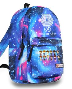 Kpop EXO Planet EXO-M EXO-K Maze logo backpack        Who badly needs this?