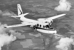 Inflight view of an Aero Commander 500-B , registration N9386R.This is the 1960 model which was the first Aero Commanders to use the slimmer engine nacelles. In 1960 the models 500A and 500B were both manufactured, and look very similar.