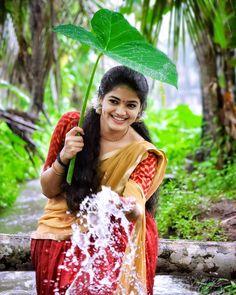 Beautiful Indian Actress, Indian Actresses, Designer Dresses, Cute Pictures, Sari, Kerala, Style, Instagram, Fashion